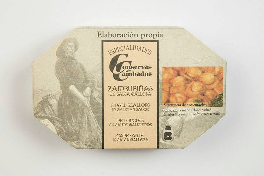 Variegated scallops in Galician sauce OL-120