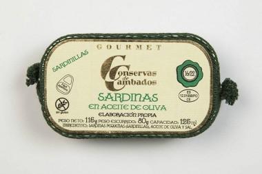 Sardines in olive oil 16/22...