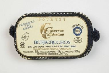 Coques de Galice au naturel...