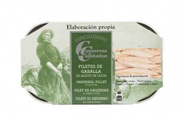 Mackerel fillets in olive...