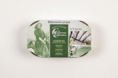 Sardines in olive oil 3/5...