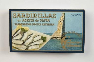 Sardines in olive oil 6/8...
