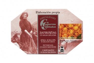 Pétoncles à la galicienne...