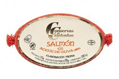Salmon in olive oil OL-120...