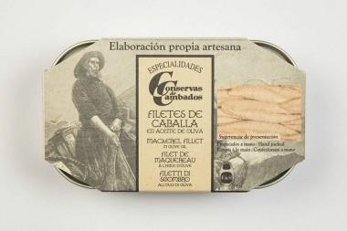 Filete de Caballa en Aceite...