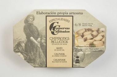 Chipirón en Aceite de Oliva...